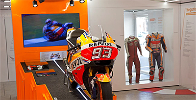Exposición Repsol Racing Tour
