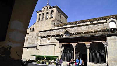 Catedral de Jaca. Iglesia de San Pedro.