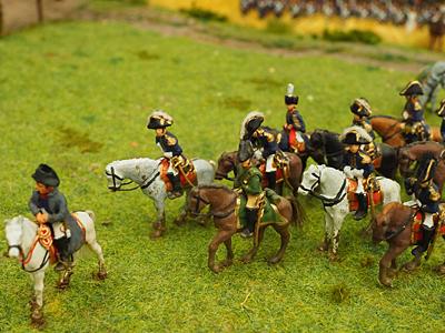 Ya se puede visitar la gran maqueta de Waterloo en la Ciudadela de Jaca