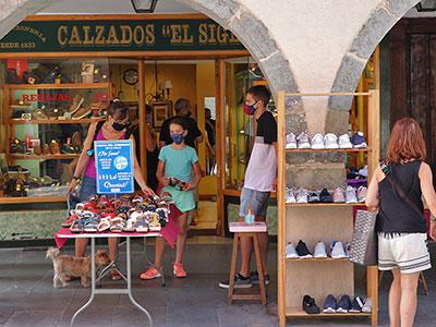 Jaca celebra el fin de semana del Comercio en la calle